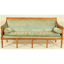 Early American Five Legged Sofa