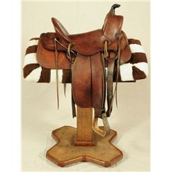 Early Texas Tanning Co A Frame Saddle