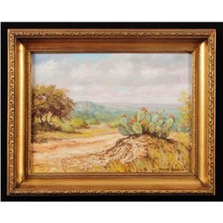 Robert Harrison  Road to San Antonio  Oil Painting