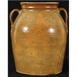 Odom Texas Stoneware Jar  Upshur County