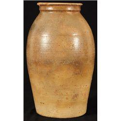 Odom Texas Stoneware 4 Gallon Jar