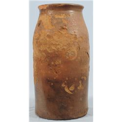 Cranston Signed Texas Stoneware Jar