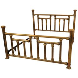 Antique King Size Brass Bed