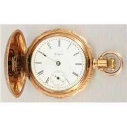 14K Gold Pocket Watch