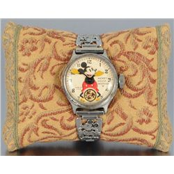 Vintage Mickey Mouse Ingersoll Watch