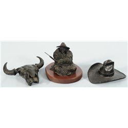 Three Small Western Bronzes