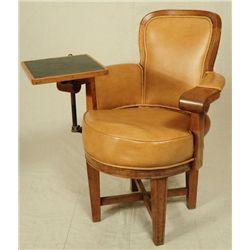 Cock Fighting Gambler's Chair