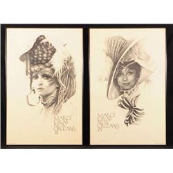 Mardi Gras 1978 &1979 Signed Artist Proof Posters