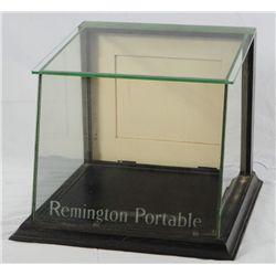 Remington Portable Countertop Glass Display Case