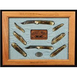 Case Pocket Worn Pocket Knife Set