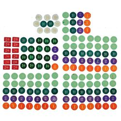 Collection of 159 Assorted Poker Chips