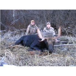 LATE SEASON BULL MOOSE HUNT ~ DOUBLE EAGLE GUIDES & OUTFITTERS