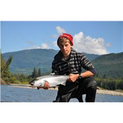 FRESHWATER OUTFITTED SALMON or TROUT FISHING FOR 2 ~ UGO/BC FISHING ADVENTURES