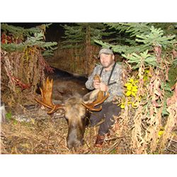 CANADIAN MOOSE HUNT ~ SONNY'S GUIDING SERVICE