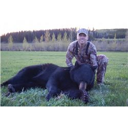 SPRING BLACK BEAR HUNT FOR ADULT & JR HUNTER ~ BACKCOUNTRY GUIDE OUTFITTERS