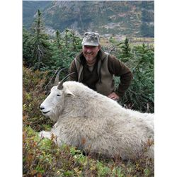BACKPACK MOUNTAIN GOAT HUNT ~ CLAW MOUNTAIN OUTFITTERS