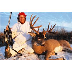 WHITETAIL DEER HUNT IN NORTHERN SASKATCHEWAN