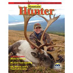 ADVERTISING IN MOUNTAIN HUNTER™ – INSIDE FRONT COVER