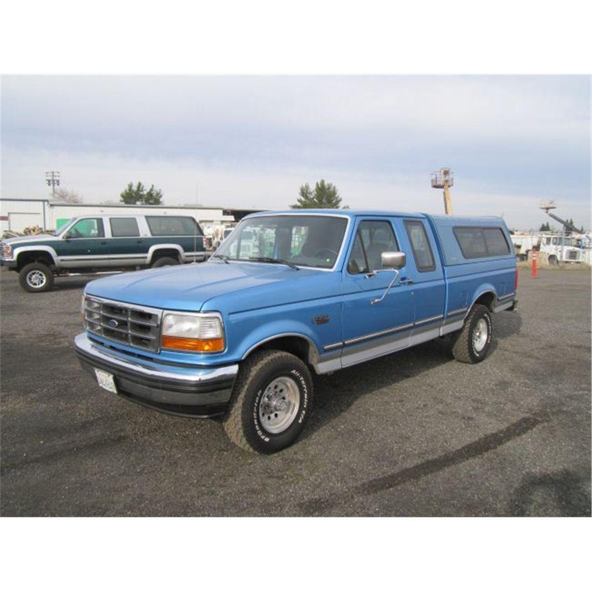 1992 Ford F150 Xlt Xtra Cab 4x4 Pickup Truck