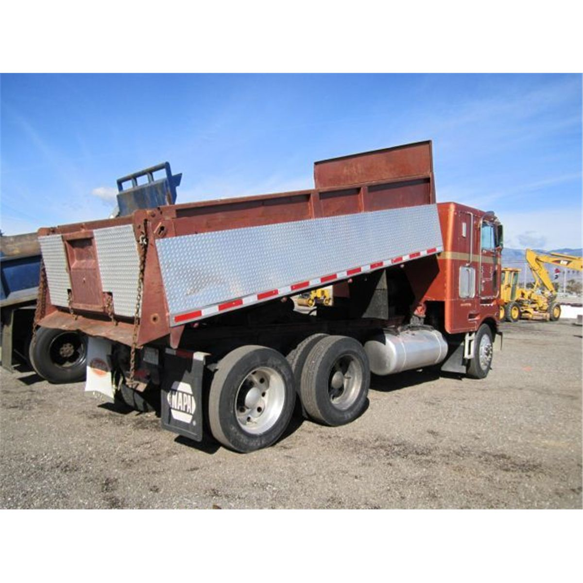 1985 Peterbilt 362 Cab-Over T/A Dump Truck