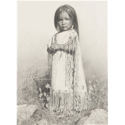 Crowley, Don - Rachel - Study for Littlest Apache