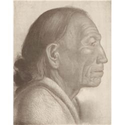 Berninghaus, Oscar E. - Old Pueblo Indian-Taos #2/8