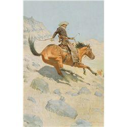Remington, Frederic - The Cowboy