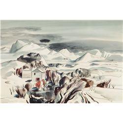 Sheets, Millard - New Mexico Winter