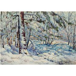 Carlson, John F. - Melting Snow