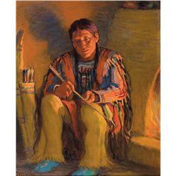 Sharp, Joseph Henry - Taos Indian Hunter
