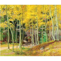 Hennings, E. Martin - Along the Canyon Road