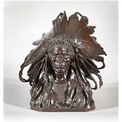 Weinman, Adolph Alexander - Chief Black Bird, Ogalalla Sioux
