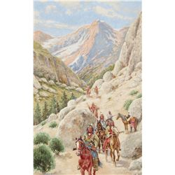 Hauser, John - Indians in the Pass