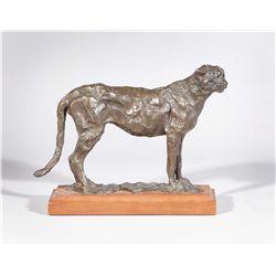 Bunn, Kenneth - Standing Cheetah
