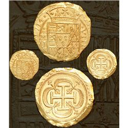 Mexico City, Mexico, cob 8 escudos, 1714J, Royal dies extremely rare from the 1715 fleet