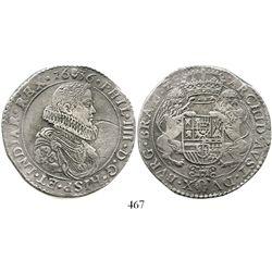 Brabant, Spanish Netherlands (Antwerp mint), portrait ducatoon, Philip IV (young portrait), 1636. KM
