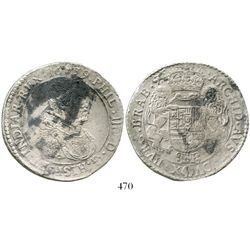 Brabant, Spanish Netherlands (Antwerp mint), portrait ducatoon, Philip IV, 1639. KM-72.1. 31.4 grams
