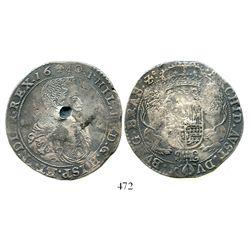 Brabant, Spanish Netherlands (Brussels mint), portrait ducatoon, Philip IV, 1640. KM-72.2. 32.0 gram