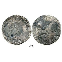 Brabant, Spanish Netherlands (Antwerp mint), portrait ducatoon, Philip IV, 1648. KM-72.1. 31.3 grams