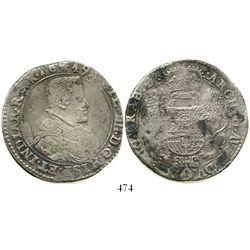 Brabant, Spanish Netherlands (Brussels mint), portrait ducatoon, Philip IV, 1649. KM-72.2. 31.3 gram