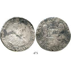 Brabant, Spanish Netherlands (Antwerp mint), portrait ducatoon, Philip IV, 1649. KM-72.1. 31.7 grams