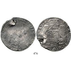 Brabant, Spanish Netherlands (Antwerp mint), portrait ducatoon, Philip IV, 1654. KM-72.1. 32.5 grams