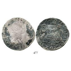 Brabant, Spanish Netherlands (Brussels mint), portrait ducatoon, Philip IV, 1654. KM-72.2. 32.1 gram