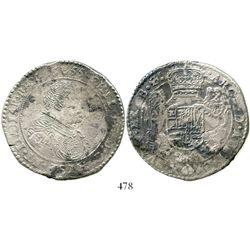 Brabant, Spanish Netherlands (Antwerp mint), portrait ducatoon, Philip IV, 1655. KM-72.1. 30.0 grams