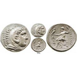 "Kings of Macedon, Ancient Greece, AR tetradrachm, Alexander III (""the Great""), 336-323 BC, Amphipoli"