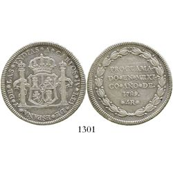 Mexico City, Mexico, 4 reales proclamation medal, Charles IV, 1789. Grove-C10; KM-Q27; CT-836. 13.3