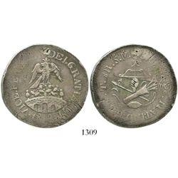 Tlalpujahua, Mexico (Supreme National Congress), 8 reales (struck in silver), Ferdinand VII, 1812, v