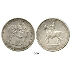 USA, 1 dollar, 1900, Lafayette commemorative. KM-118. 26.7 grams. Bold AU with hint of luster and to