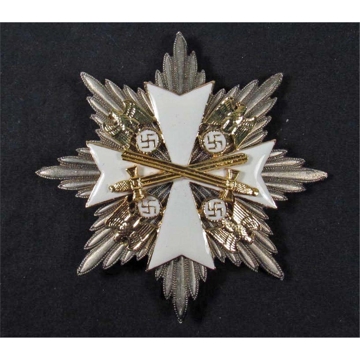 GERMAN NAZI ORDER OF THE GERMAN EAGLE BADGE