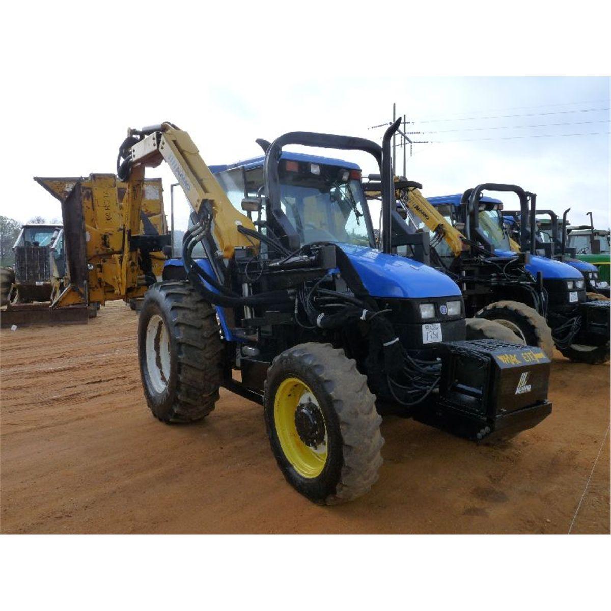 NEW HOLLAND TS110 4X4 FARM TRACTOR